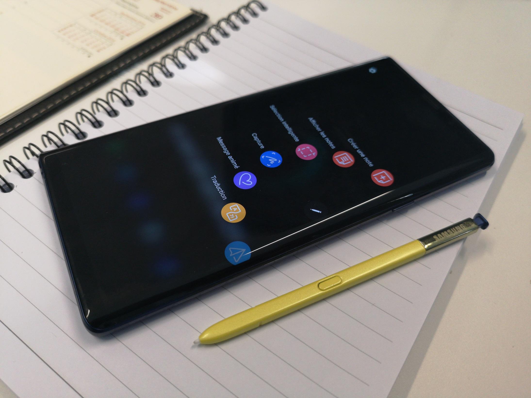 Test Samsung Galaxy Note 9 - [ TEST ] Samsung Galaxy Note 9 : c'est cher mais qu'est-ce que c'est bon !