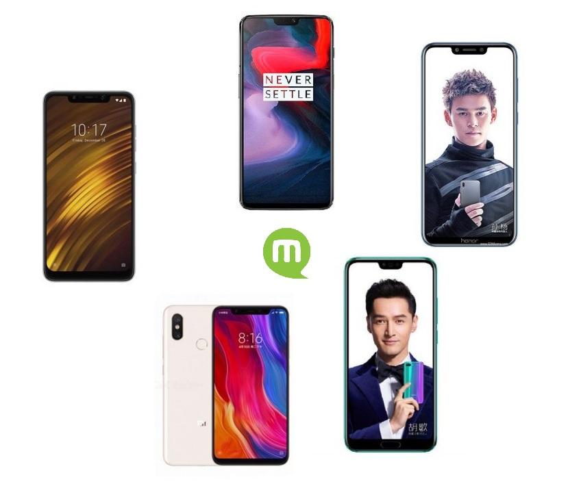 Guide d'achat smartphone : top 5 des meilleurs flagship killers