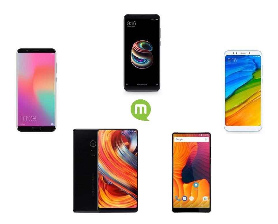 Quel smartphone chinois pas cher acheter sur Gearbest actuellement ?
