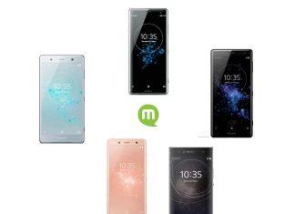 Top 5 smartphones Sony