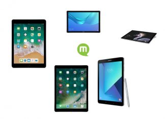 Top 5 des tablettes