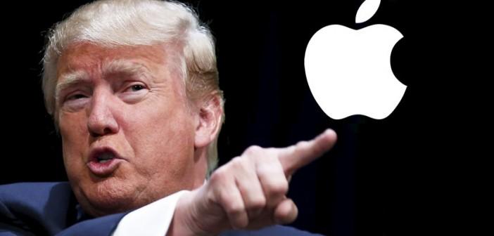 À sa manière, Trump encourage Apple à construire des usines aux USA