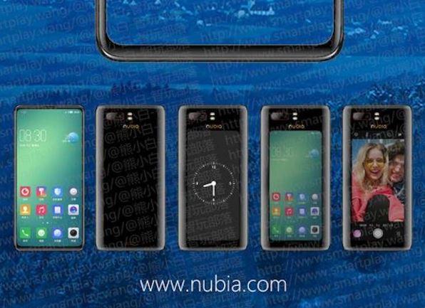 ZTE Nubia Z18S : son deuxième écran se montre dans une vidéo