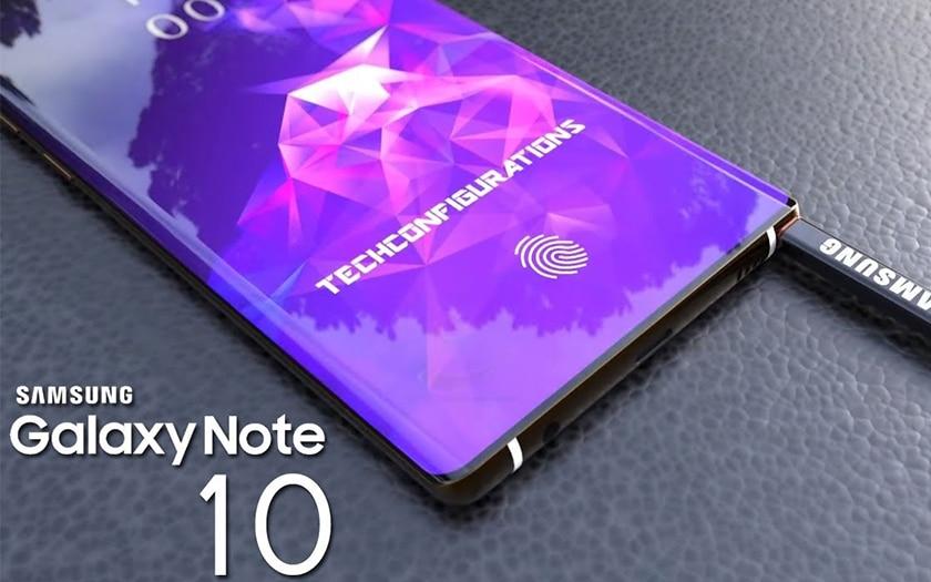 Samsung : le Galaxy Note 10 sera surement doté d'un stylet S Pen