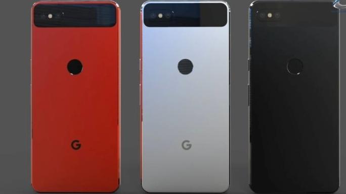 Google révèle les trois coloris du Google Pixel 3