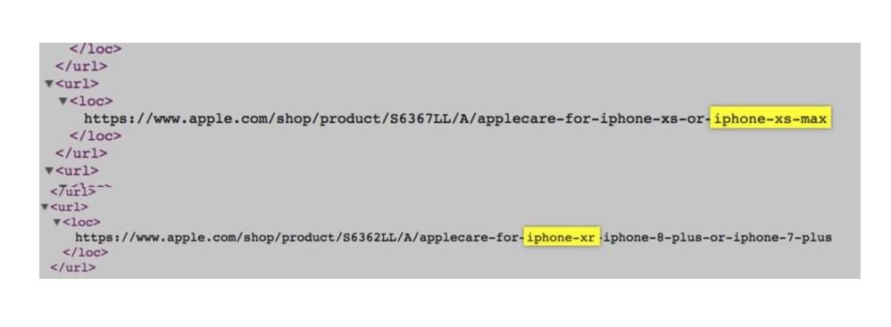 Les iPhone Xr, Xs et Xs Max sont officiels avant l'heure !