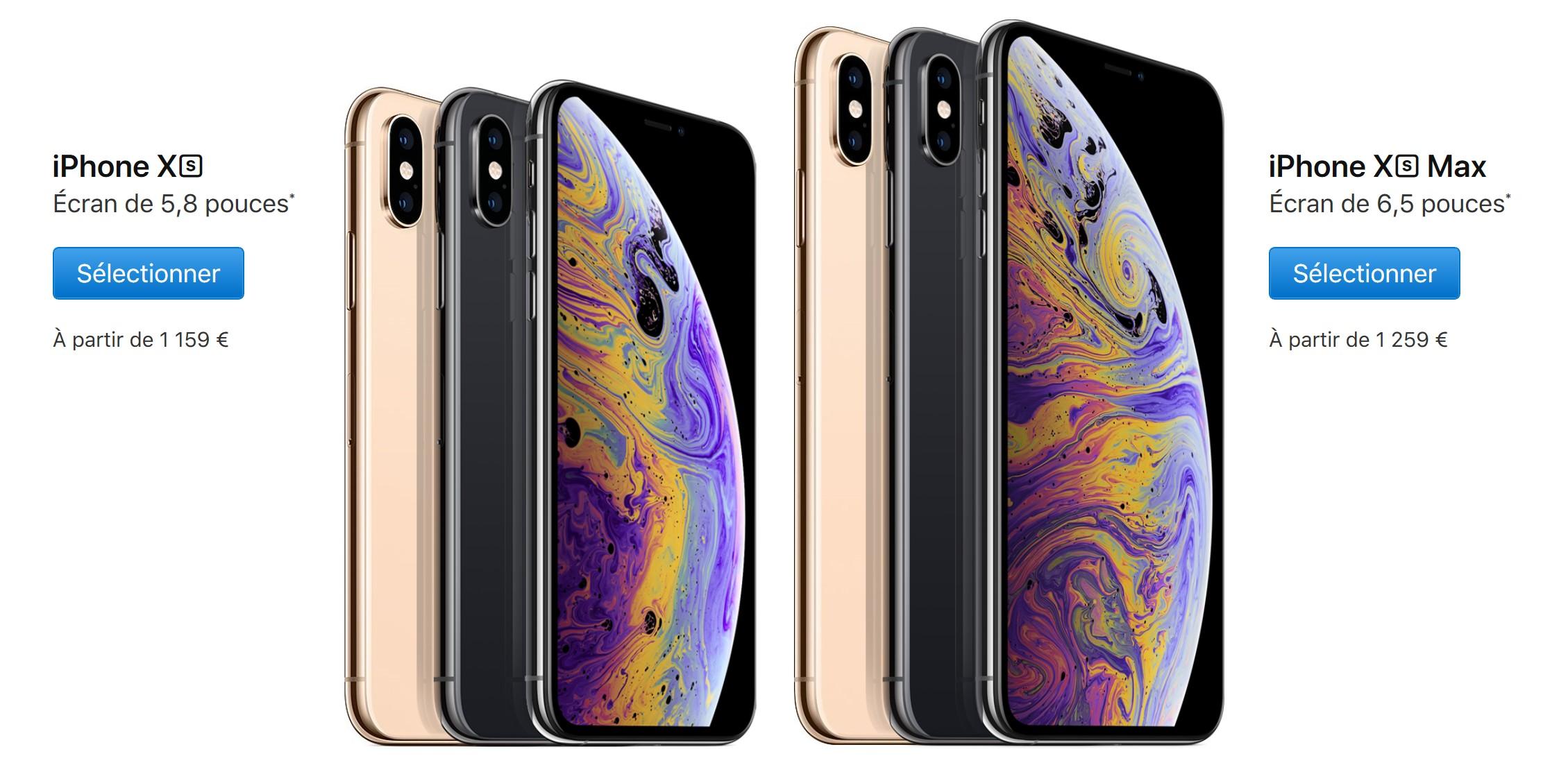 Apple : quand et comment vous procurer les iPhone XS et XS MAX ?