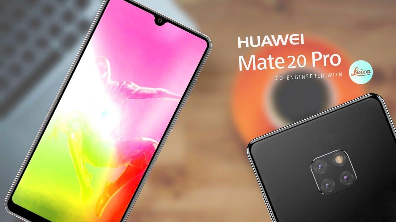 Huawei Mate 20 Pro : de nouvelles photos ont fait leur apparition