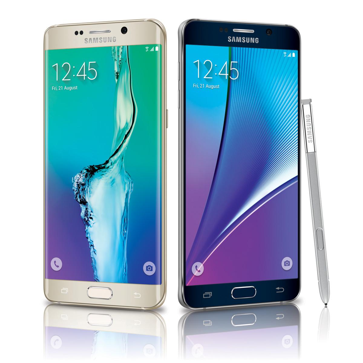 Samsung : les Galaxy Note 5 et S6 Edge sont officiellement enterrés