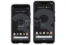 Des rendus Presse montre les Google Pixel 3 et Pixel 3 XL