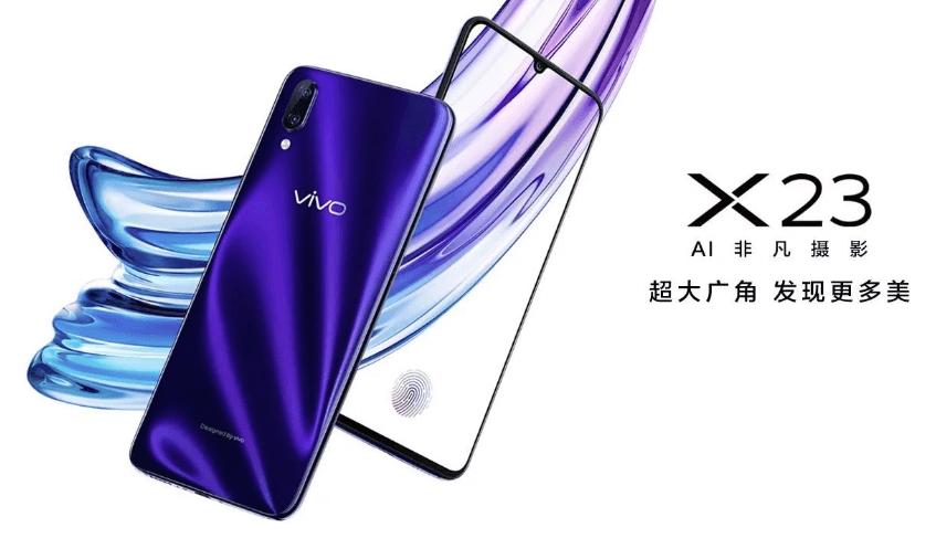 Le Vivo X23 est maintenant officiel