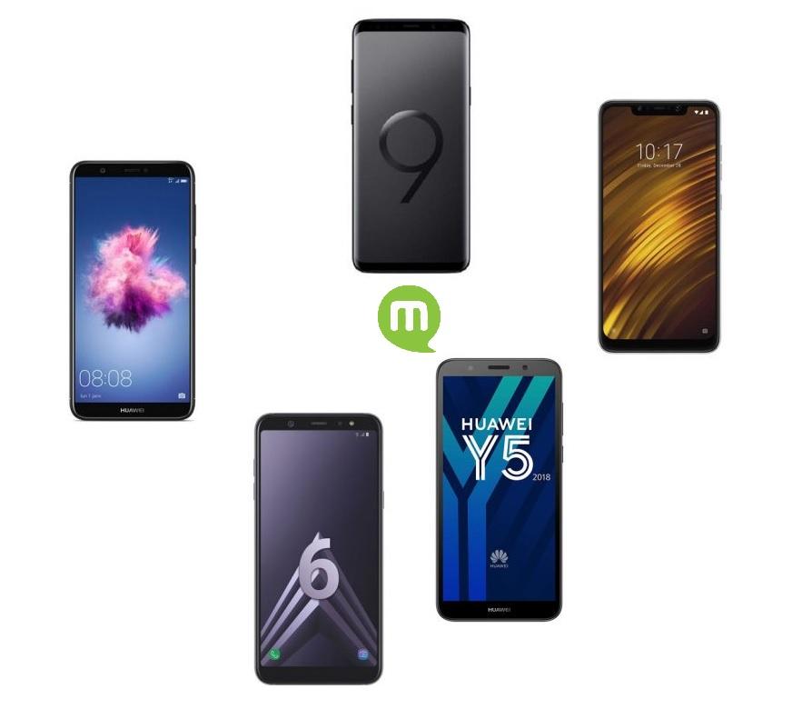 Les meilleurs smartphones en promo de la semaine