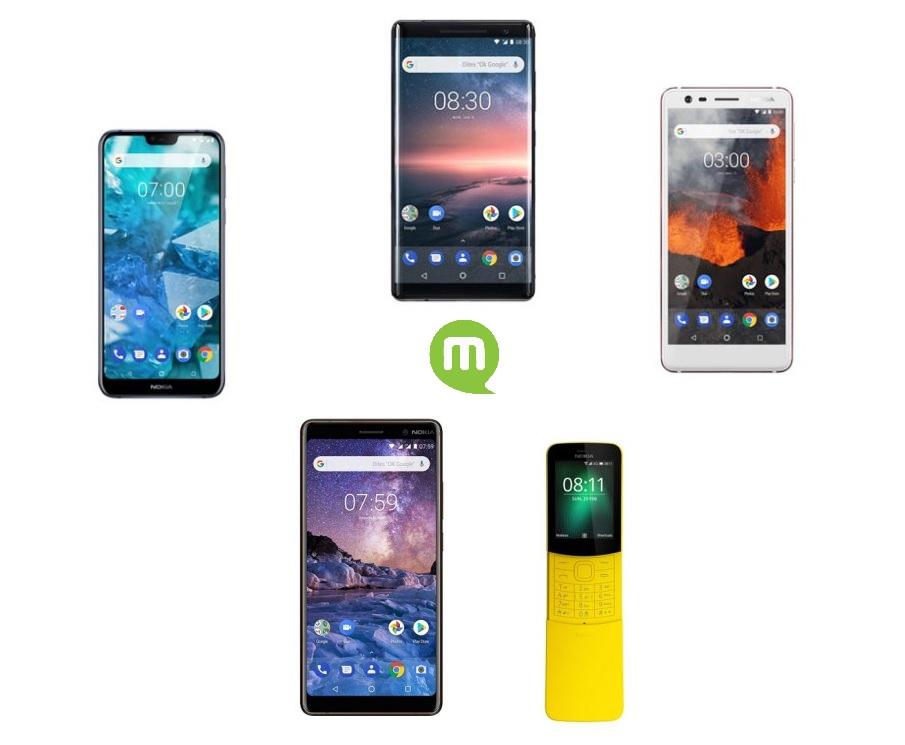 Top 5 des meilleurs smartphones Nokia