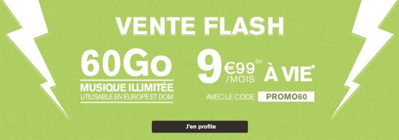 Bon plan : prolongation de l'offre 60 Go de La Poste Mobile à 9.99 euros !