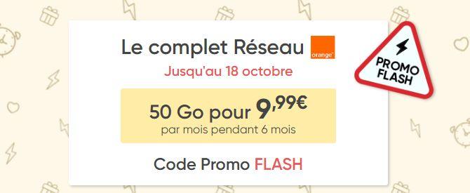 Bon plan : le forfait Prixtel 50 Go passe à 9.99 euros !