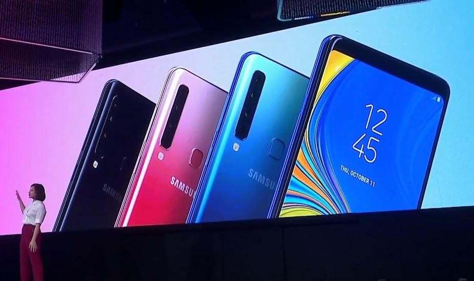 Le Samsung Galaxy A9 2018 et ses quatre capteurs