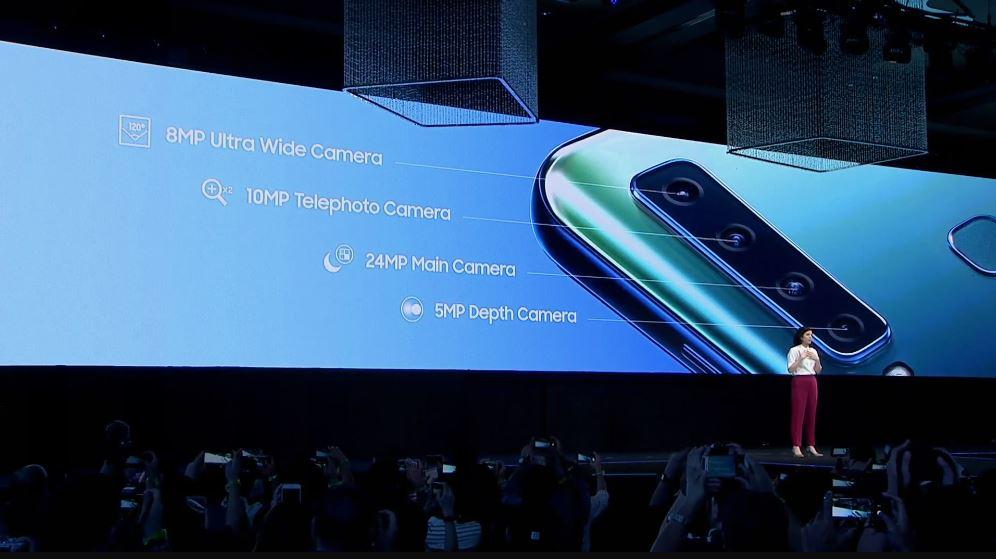 Samsung Galaxy A9 2018 : la configuration des caméras