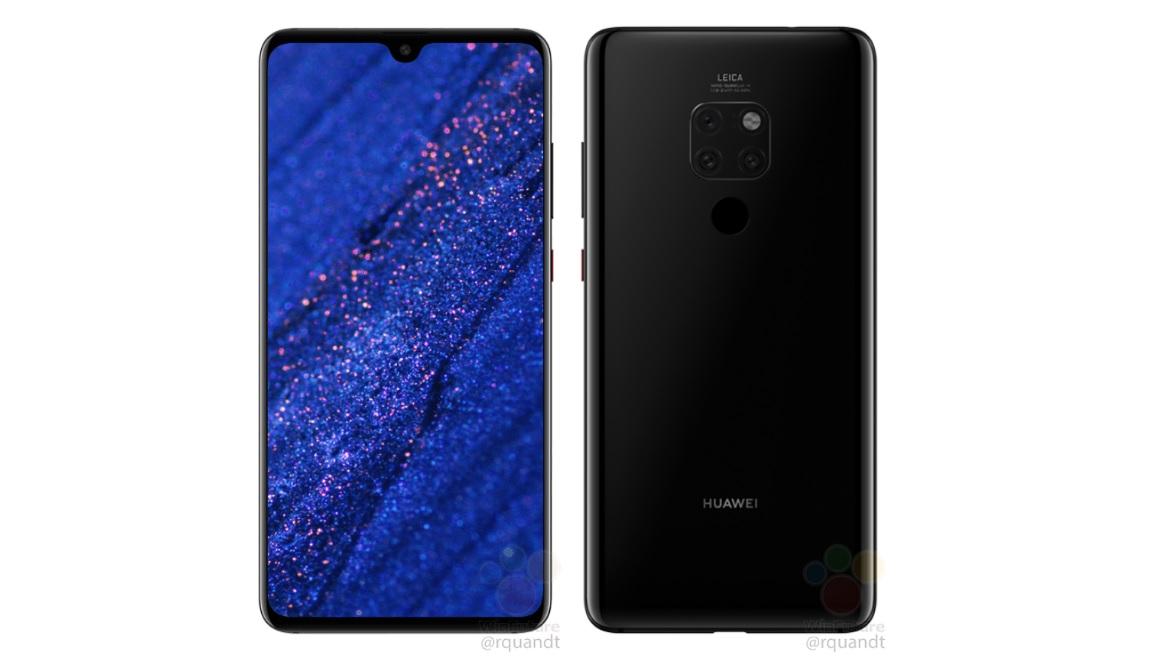 Les Huawei Mate 20 et Mate 20 Pro sont des gruyères