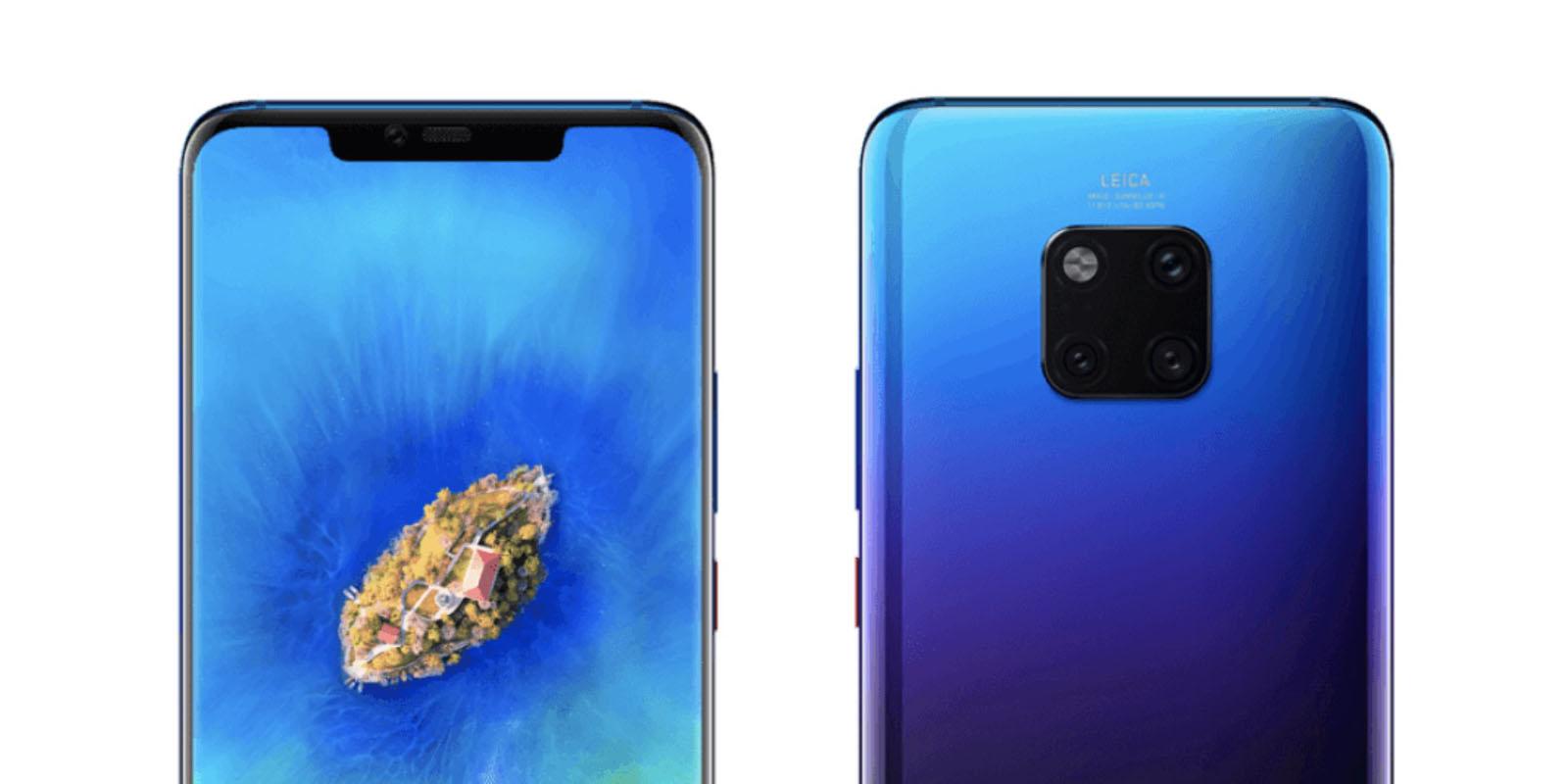 Il faudra dépenser au moins 1000 euros pour le Huawei Mate 20 Pro !