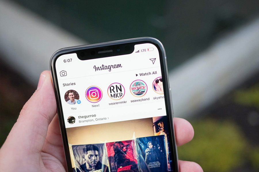 Instagram s'ajuste à l'écran de l'iPhone Xs Max
