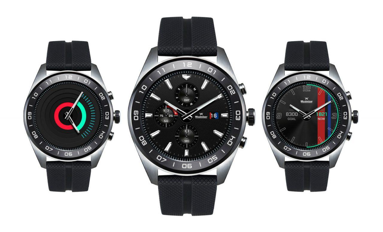 LG Watch W7 : une montre à la fois connectée et mécanique