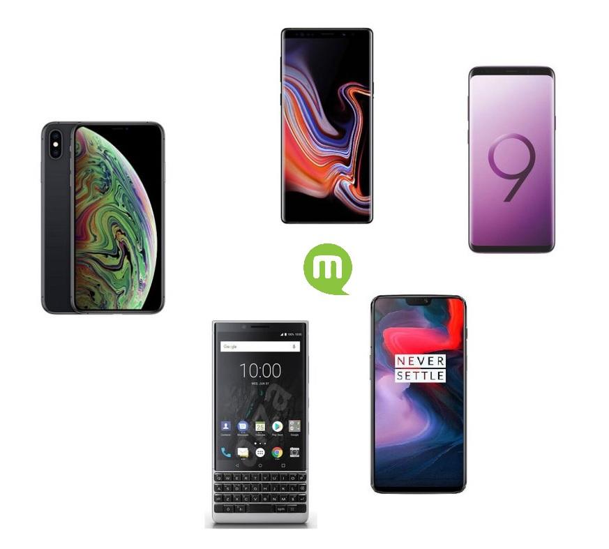 Top 5 des téléphones les plus sécurisés