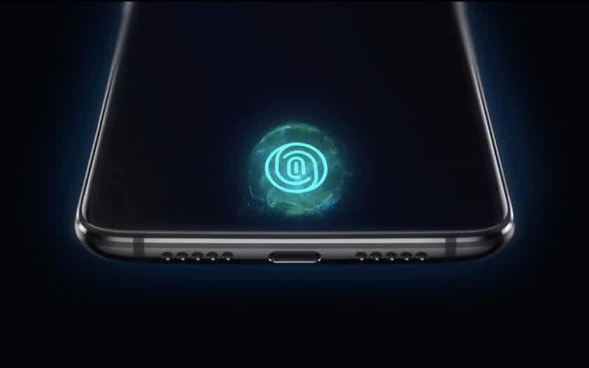 OnePlus 6T : un teaser centré sur le lecteur sous l'écran