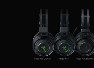 Les casques audio Razer Nari