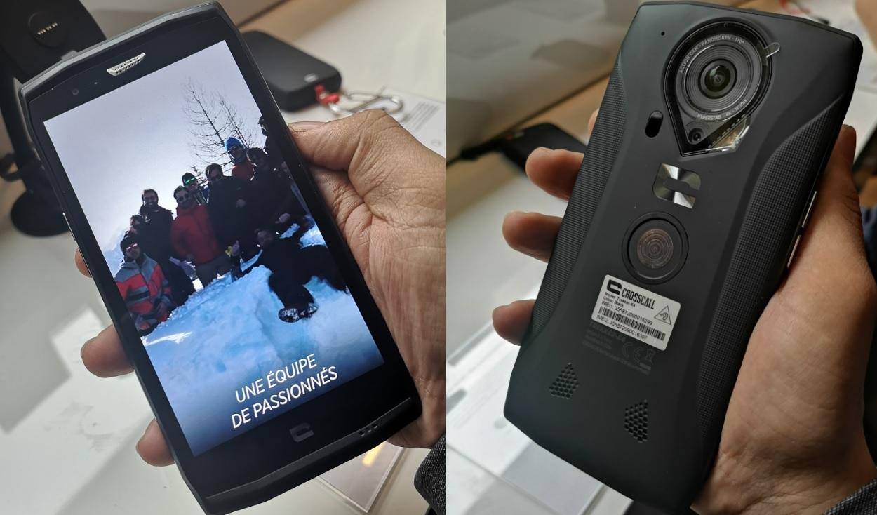 Crosscall Trekker-X4 : une nouvelle génération avec une action cam