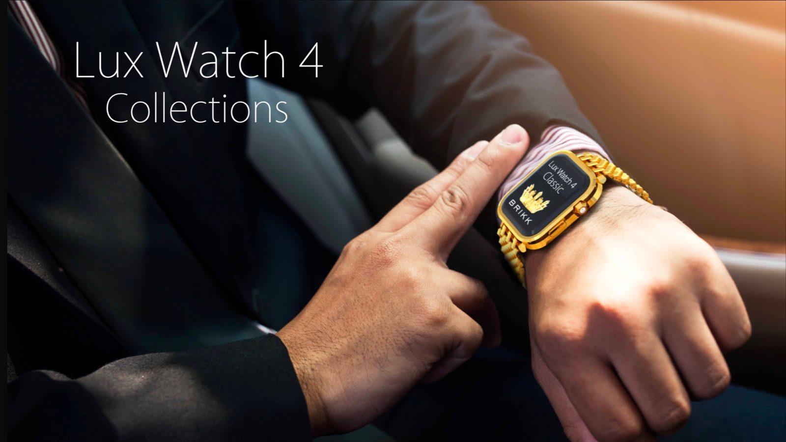 Des Apple Watch 4 versions or sont vendues à partir de 25 000 euros