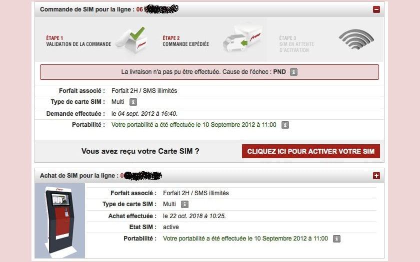 delai livraison carte sim free Free Mobile : six ans après un abonné reçoit sa carte SIM
