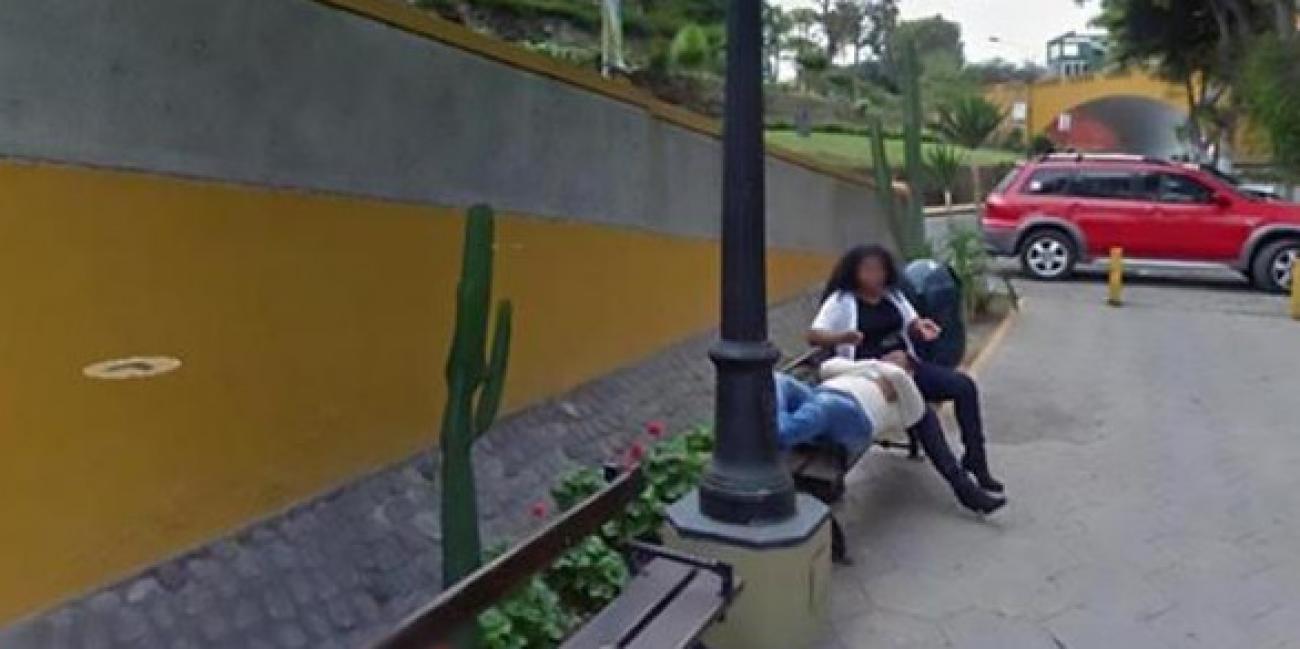 Une femme trompe son mari avec un autre et se fait choper sur Google Street View