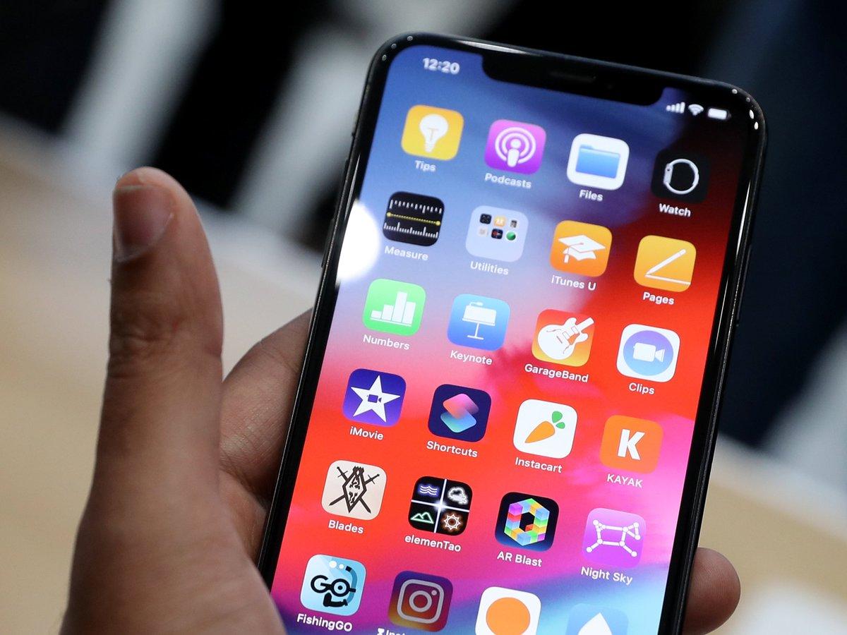 iOS 12 déjà installé sur 50 % de terminaux Apple