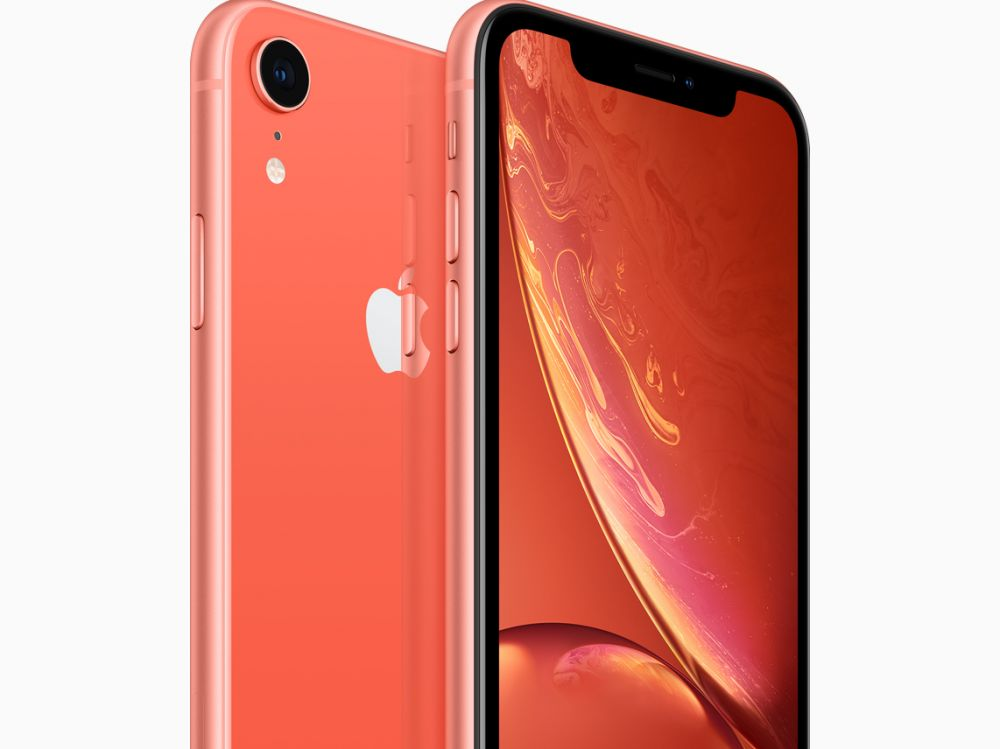 Il n'y aura pas de coques officielles pour l'iPhone XR