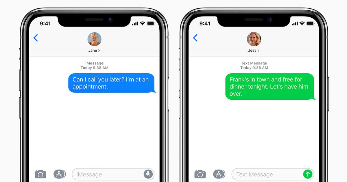 iMessage aurait dû signer la fin des SMS