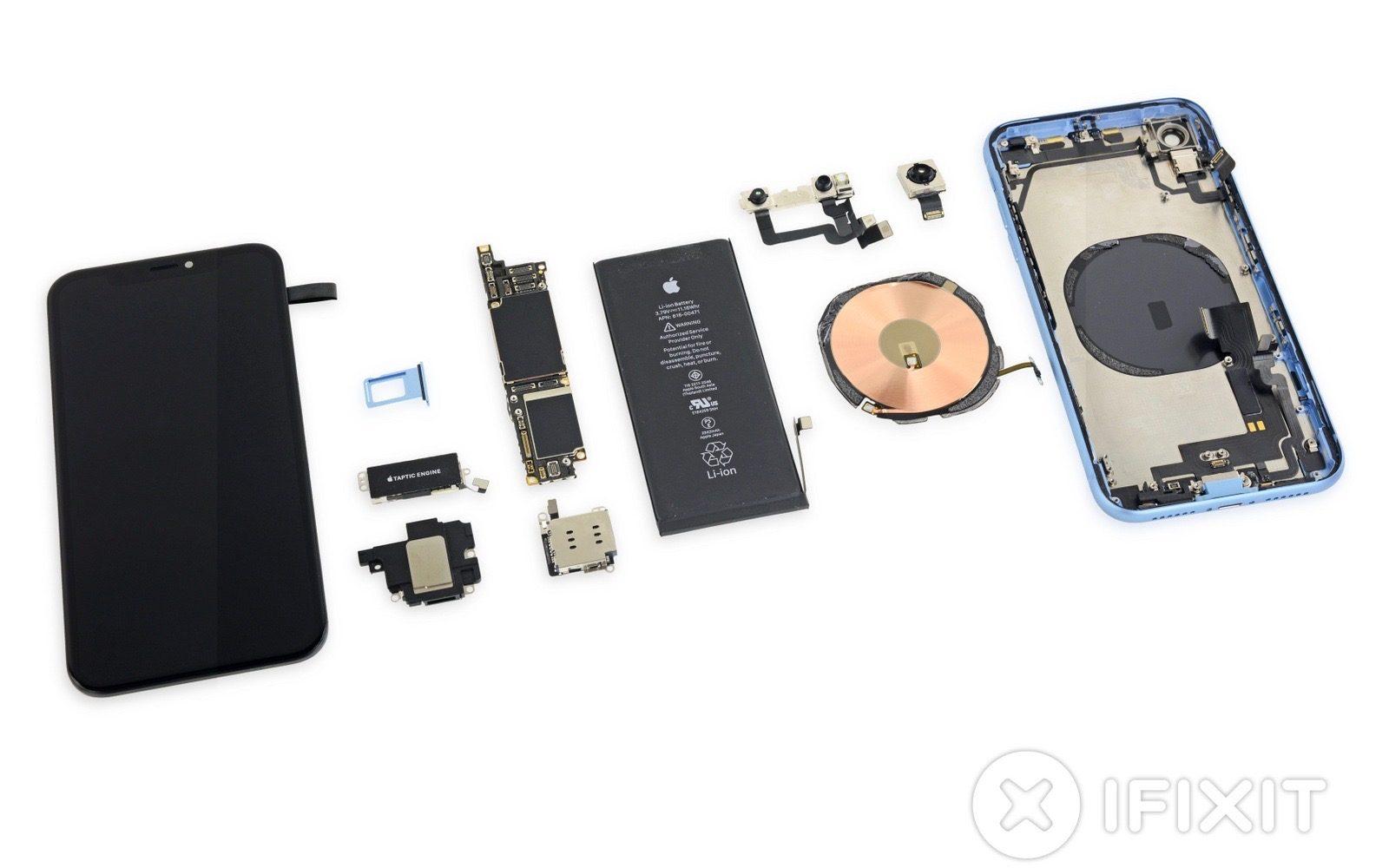 iPhone Xr démonté par iFixit : plusieurs bonnes surprises au rendez-vous