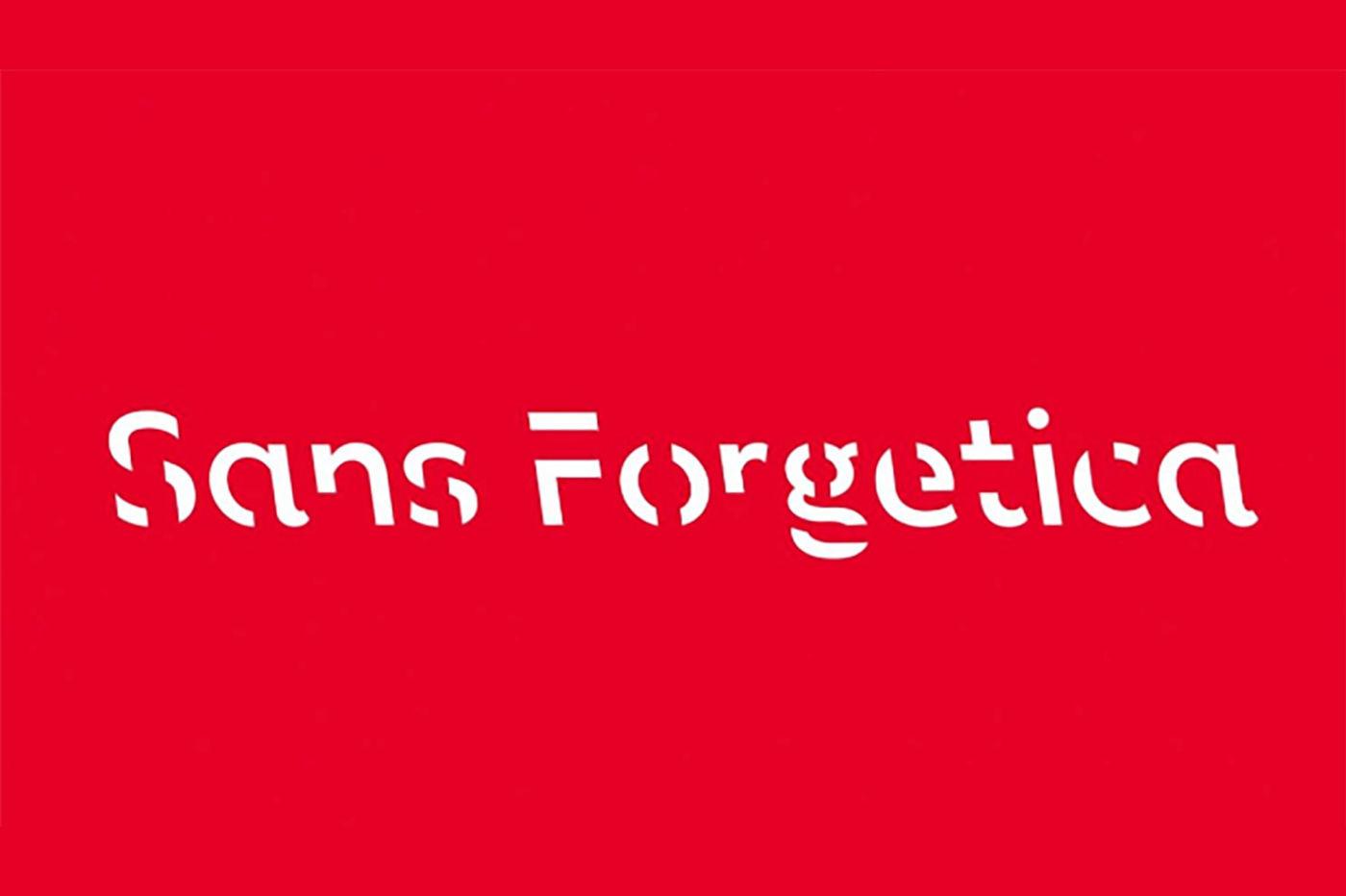 La police Sans Forgetica