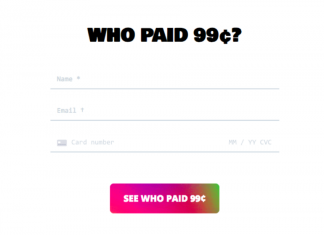 Who Paid 99 Cents?