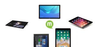 Comparatif tablettes