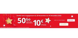 Forfait Auchan Telecom 50 Go