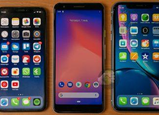 iPhone XS, Pixel 3 Lite, iPhone XR