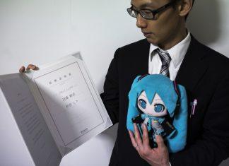 Hologramme Hastune Miku
