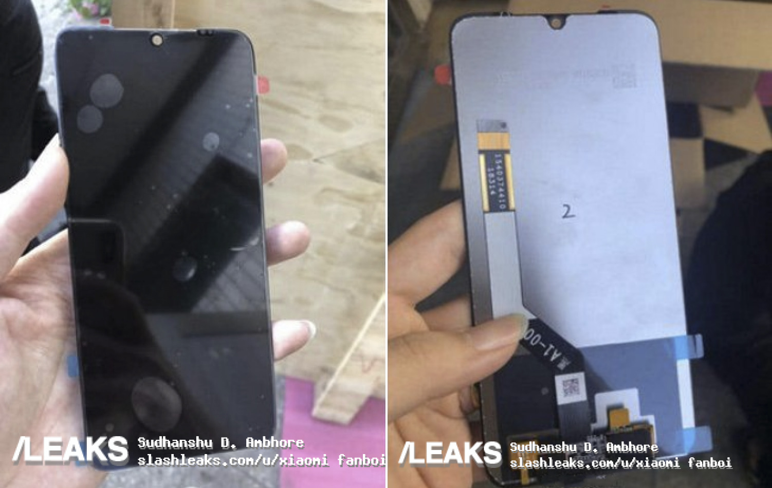 Honor View 20 - Source : Slashleaks