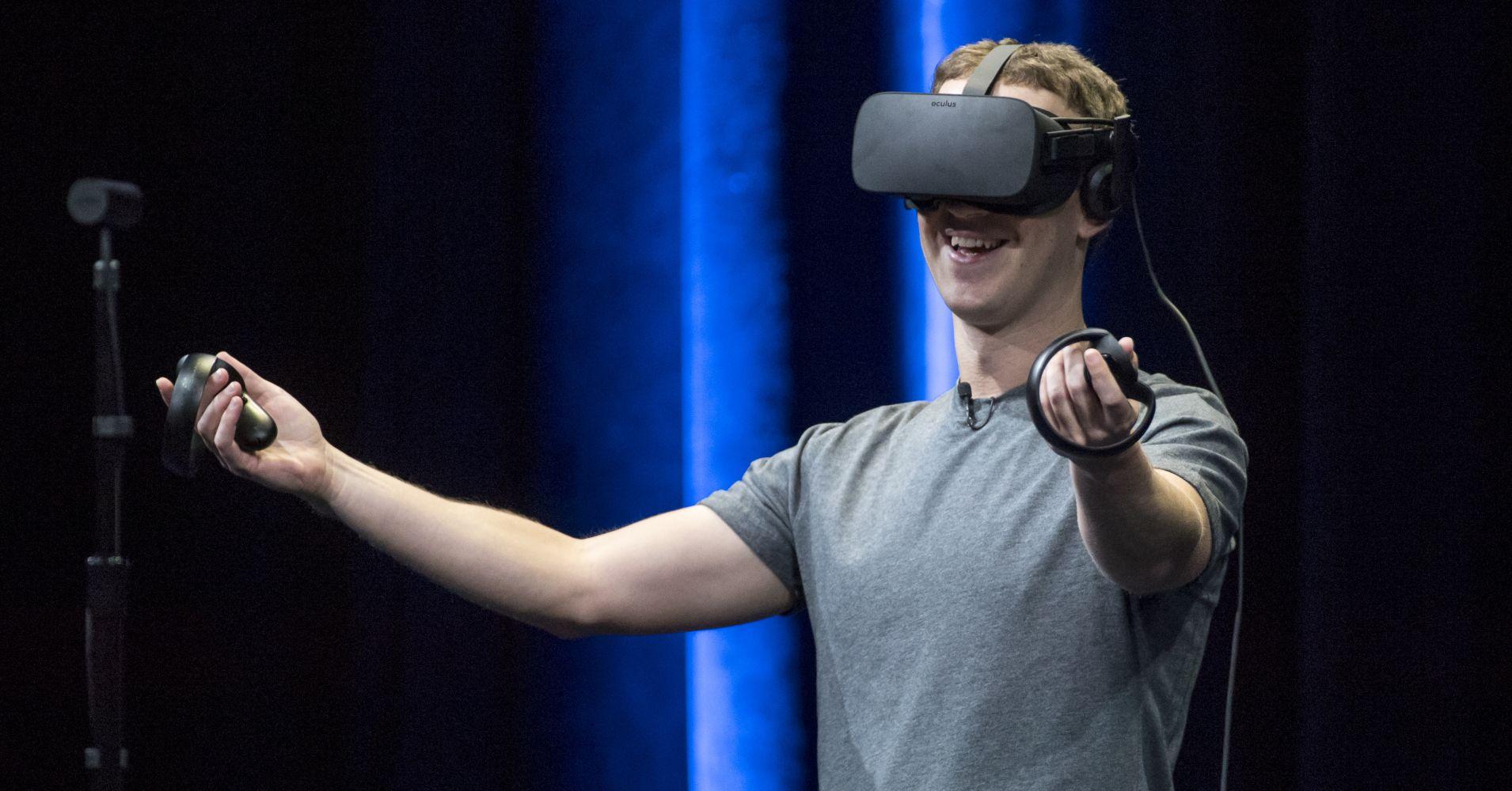 Facebook confirme son intérêt pour la réalité virtuelle