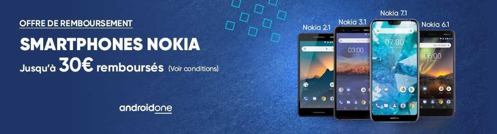 L'ODR de Nokia sur le Nokia 7.1