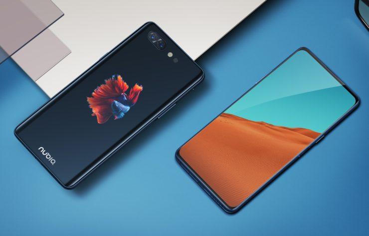 Nubia X : un smartphone full borderless avec deux écrans et sans caméra frontale