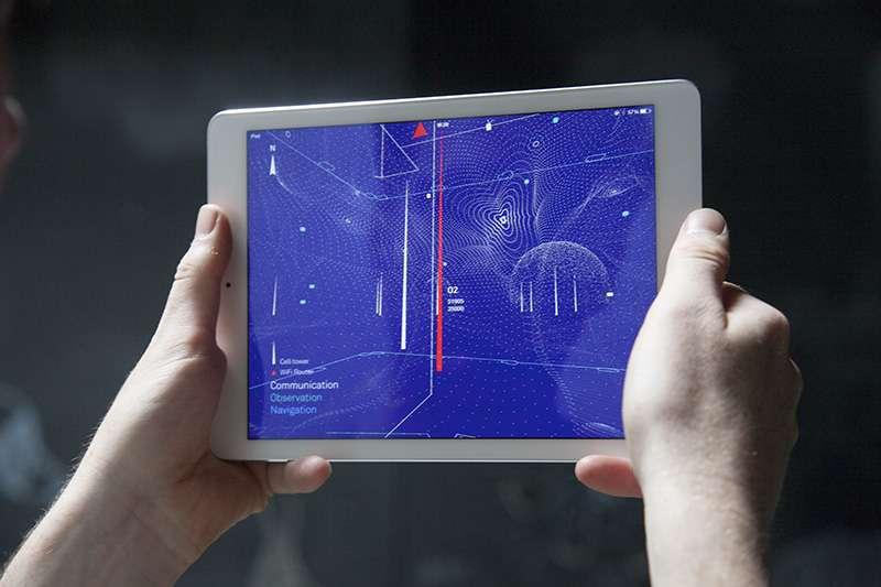 Un smartphone, une appli et un réseau WiFi permettent de savoir si une maison est occupée