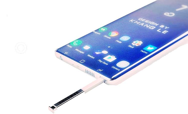 Et si le Samsung Galaxy Note 9 adopte un coloris blanc?