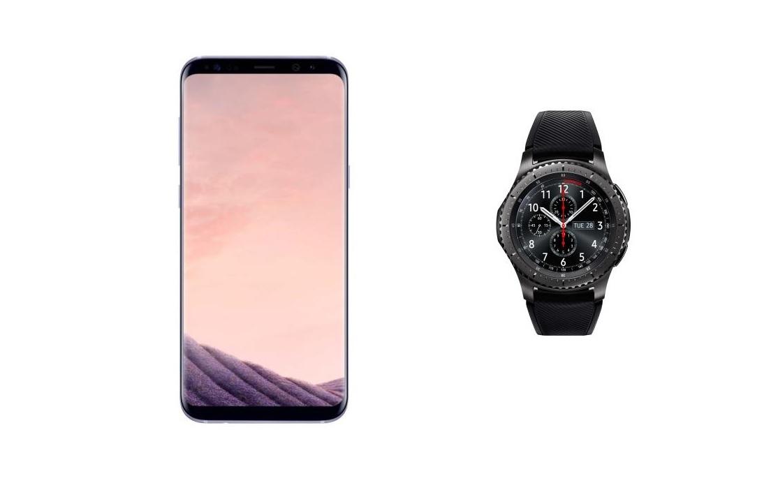 Black Friday 2018 : Samsung Galaxy S8+ et Gear S3 Frontier en promo chez Fnac !