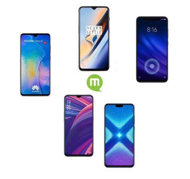 Top 5 des smartphones chinois à acheter pendant le Black Friday